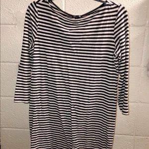 HM Striped Business Dress